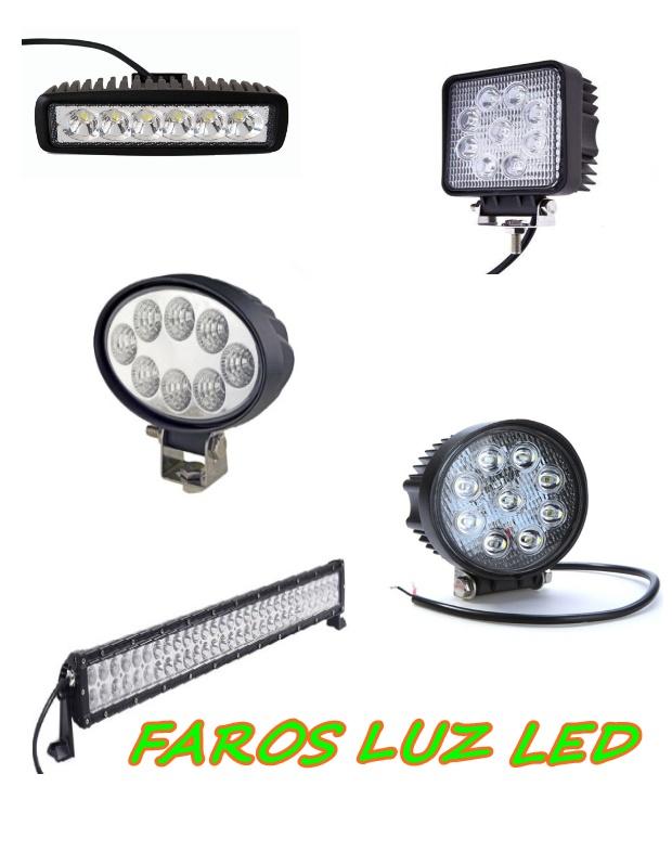 CARTEL FAROS LED